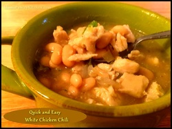 Texas Home Cooking - White Chicken Chili